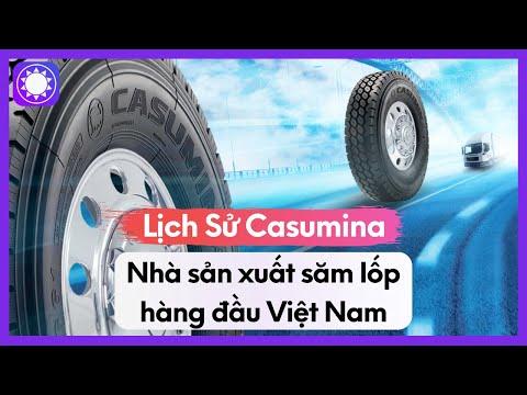 Lịch Sử Casumina - Nhà Sản Xuất Săm Lốp Hàng Đầu Việt Nam