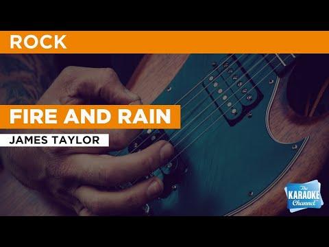 Fire And Rain : James Taylor | Karaoke With Lyrics