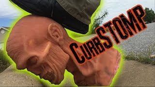 Can you CURB STOMP a Zombie?  ZGB Science Experiment USA