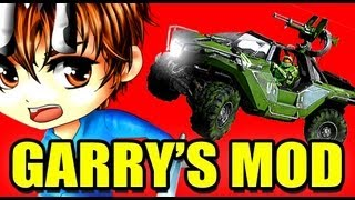 Gmod HALO VEHICLE Mod!