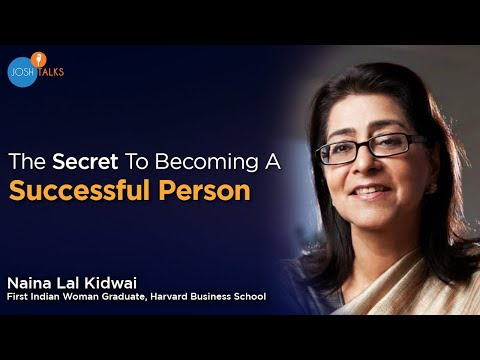 How To Become Successful in Life | Naina Lal Kidwai | Josh Talks