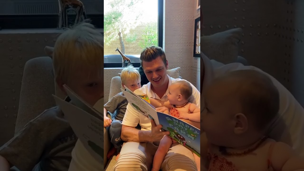 Nick Carter Reads A Happy Day on the Farm