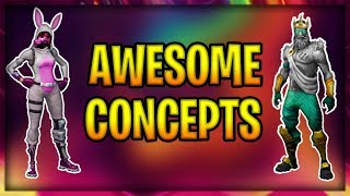 Top 40 Awesome *NEW* fortnite skin Concepts! | Fortnite Concepts