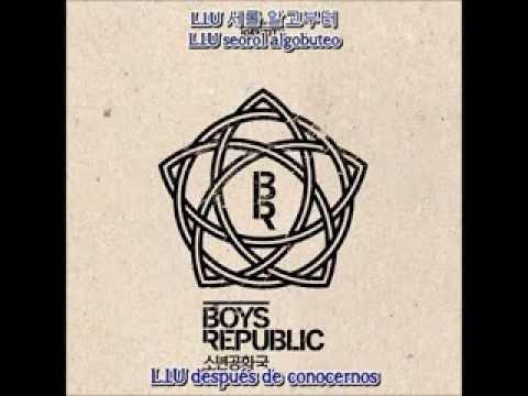 소년공화국 (Boys Republic) ~ L.I.U (Love Is You) [Hangul + Romanización + Sub Español]