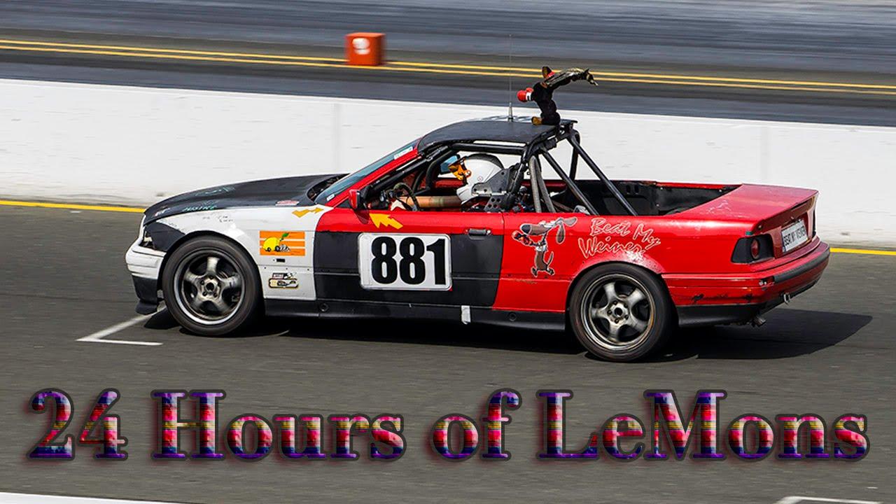 24 Hours Of Lemons >> 24 Hours of LeMons at Sonoma Raceway - YouTube