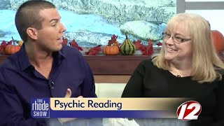 spirit medium makes connection with afterlife with a psychic reading