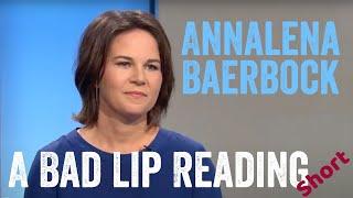 Annalena Baerbock über Robert Habeck, Heißkleber und Hundegesichter (A Bad Lip Reading Short)