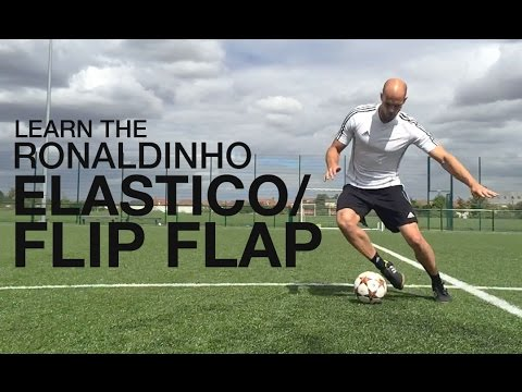 Learn the Ronaldinho Elastico/Flip Flap | Wembley Cup