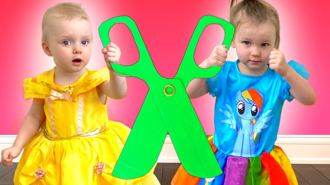 Five Kids Scissors Song + more Children's Songs and Videos