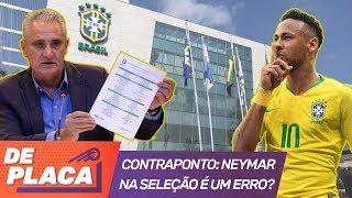 Tite ERROU ao convocar Neymar? - Papo esquentou!