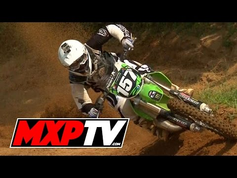 RAW: Sean Hackley Shreds 125 In Maryland - MXPTV In Time (2011)