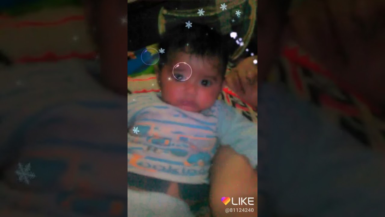 Baby comedy face - YouTube