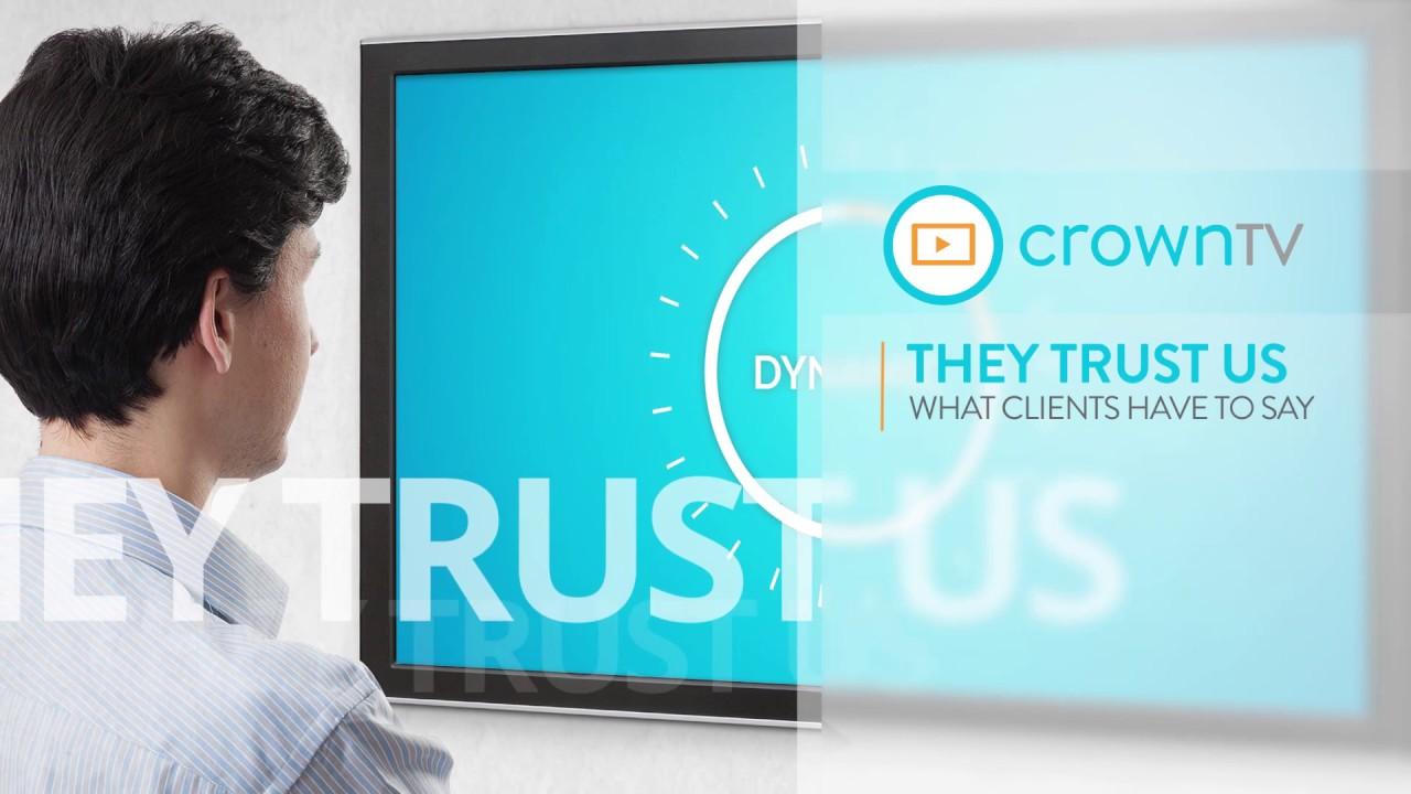 Download CrownTV Digital Signage Installations