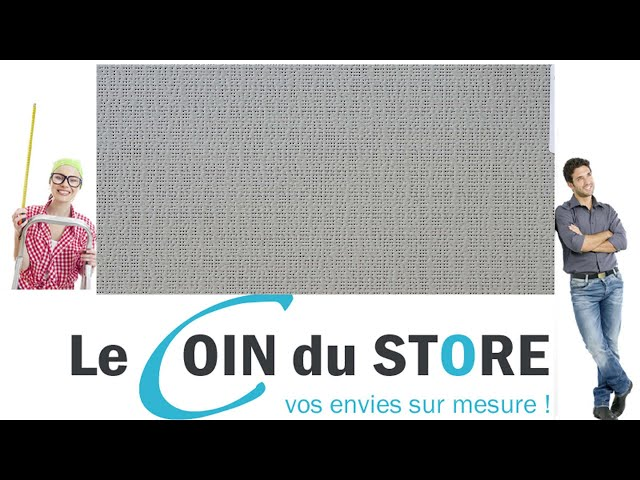 Toile PVC pour pergola et store Soltis Perform 92 recto Alu métallise verso gris 2074 Serge Ferrari