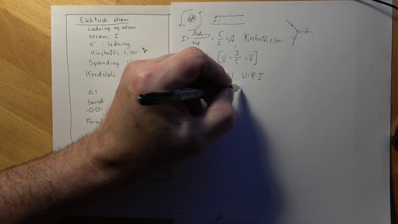 Eksamen, Fysik B, Ellære