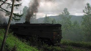 """""""BAM-2007"""" Part 7. Railway travel (RZD, Kuznetsovskiy, Komsomolsk, Khabarovsk)"""
