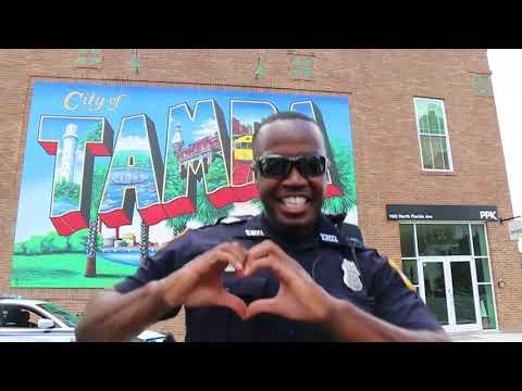 Tampa Police Department Does The 'In My Feelings' Challenge