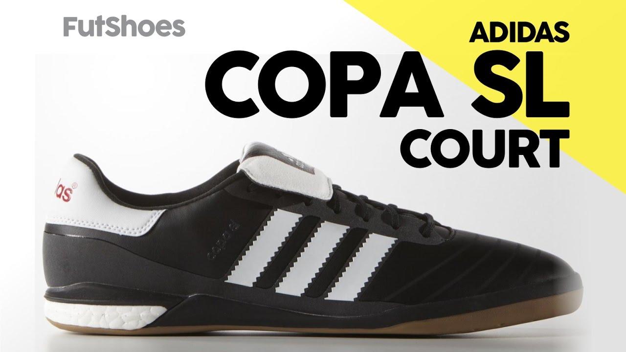 pretty nice 8cc48 4f9db Adidas Copa SL Court - Unboxing + On feet - FutShoes
