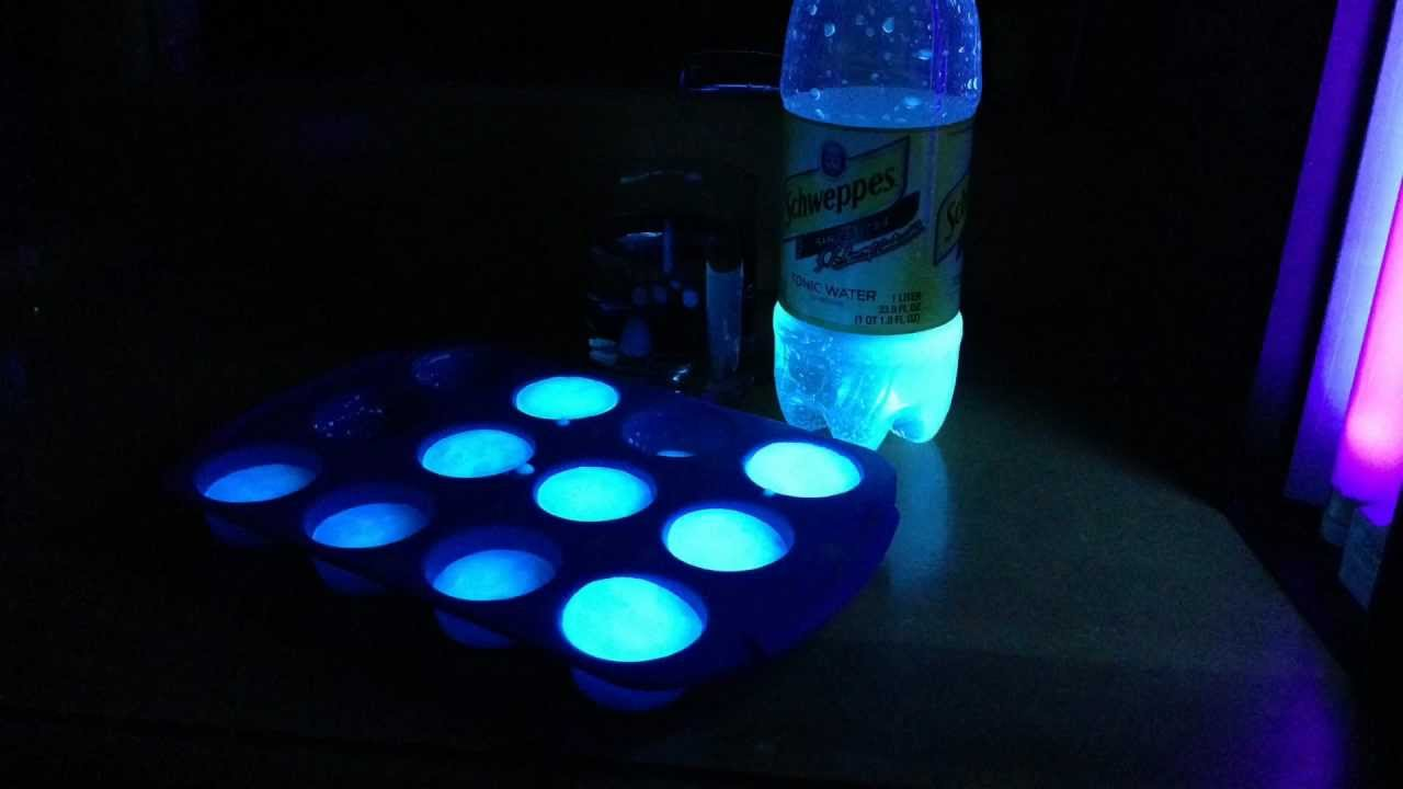 make real glowing ice cubes youtube