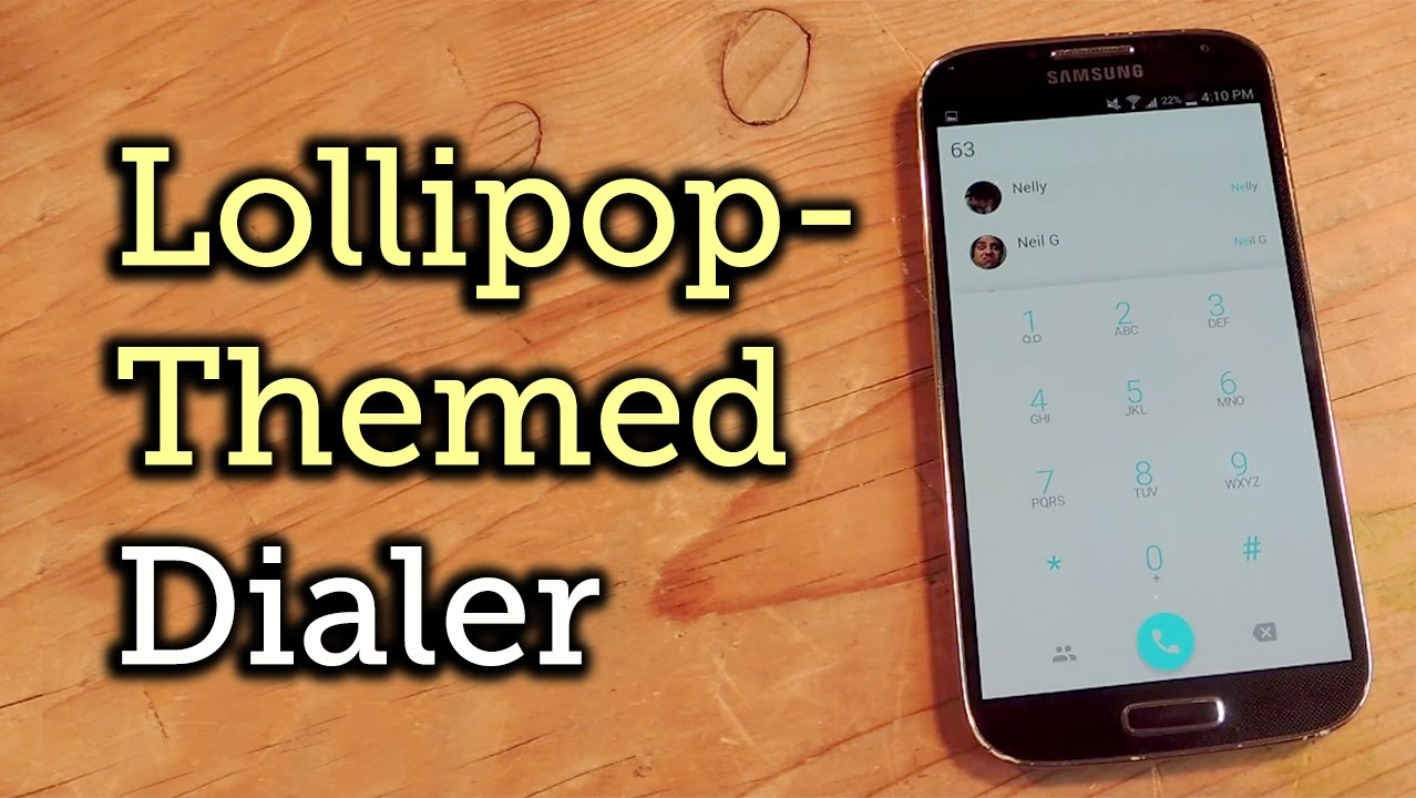 Android 5 0 Lollipop Theme for Your Current Dialer - Android 2 2 & Higher  [How-To]