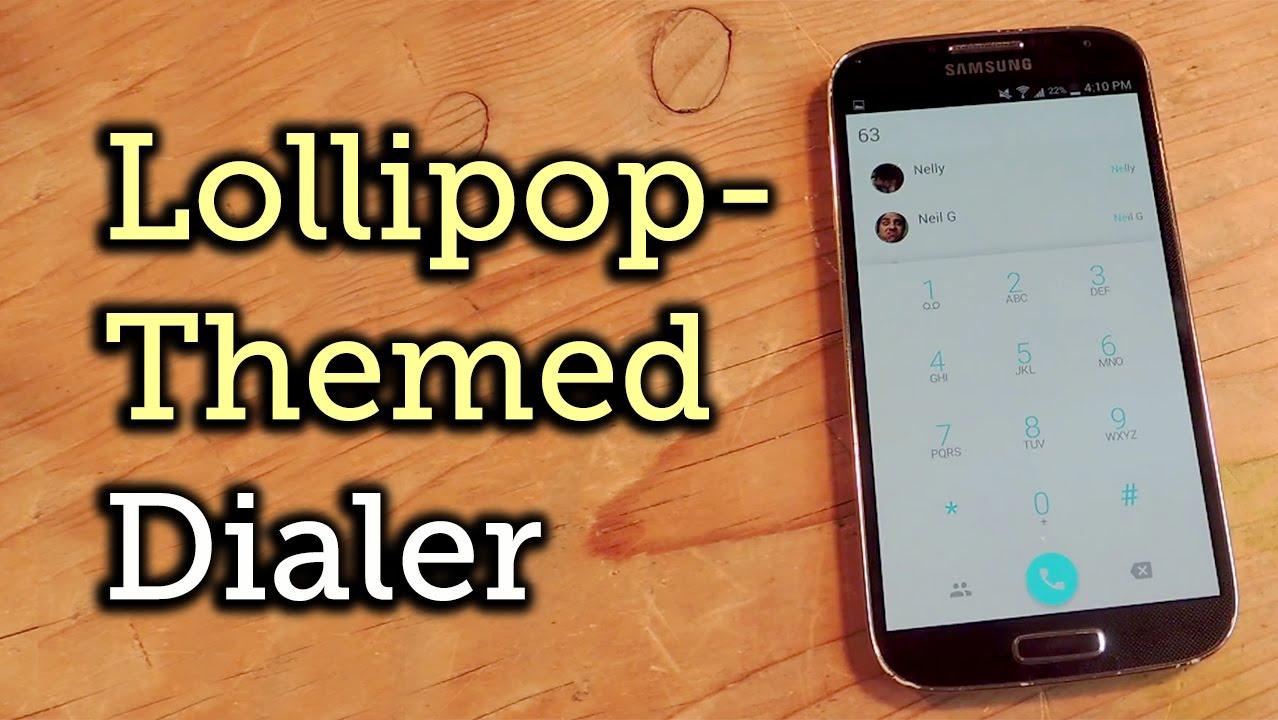 google phone dialer apk for lollipop