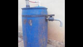 Homemade Biogas Testing