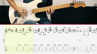 Van Halen - Panama (Guitar Tutorial)