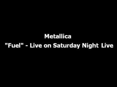 Metallica - Fuel (Live on Saturday Night Live SNL)