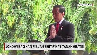Video Saat Presiden Jokowi Berbahasa Bali, Bagikan Sertifikat Tanah Gratis download MP3, 3GP, MP4, WEBM, AVI, FLV Maret 2018