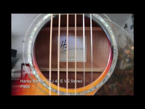 Harley Benton Acoustic Comparison  CLA-16SCE Vs  CLD-15MCE Vs CLJ-45E VS