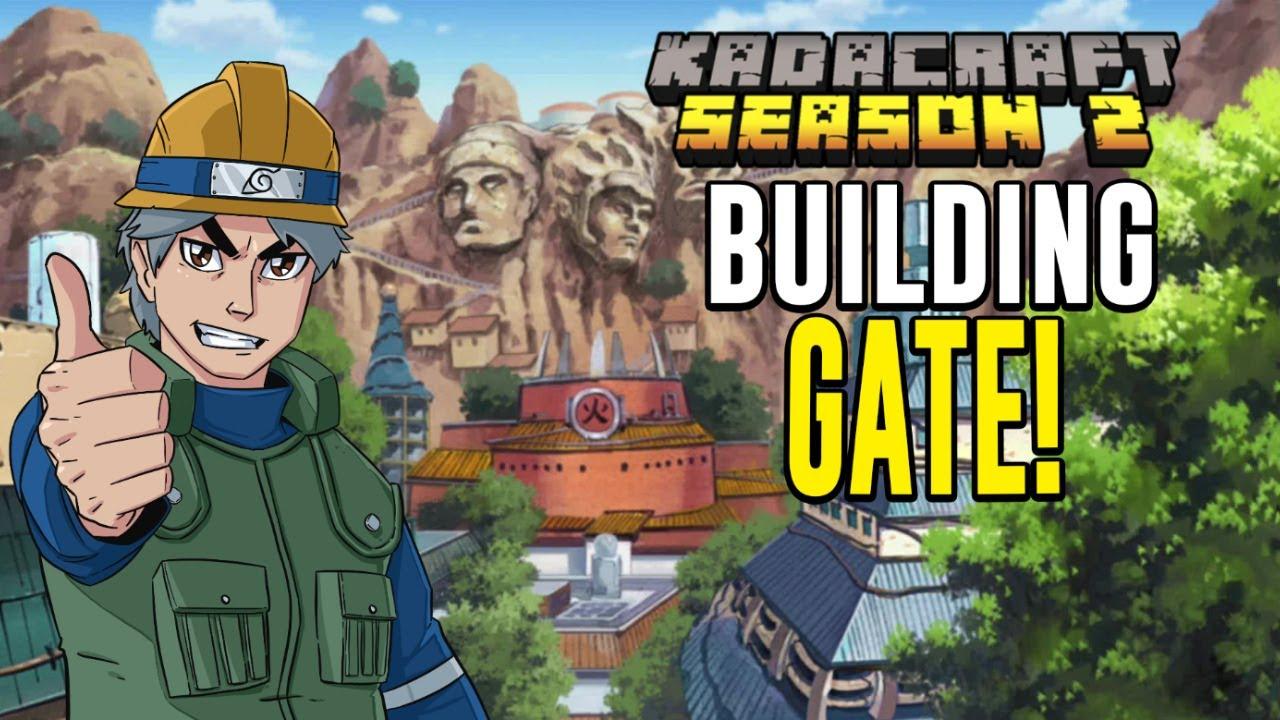 🔴 KadaCraft 2 #FillerEpisode - BUILDING KONOHA OUTPOST?  (livestream)