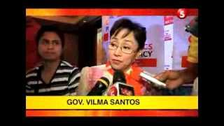 Showbiz Police: Gov Vilma Santos favors Nora Aunor for the National Artist Award