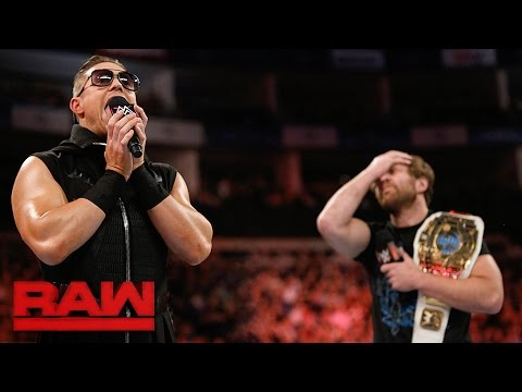 Dean Ambrose and The Miz are Co-Acting General Managers: Raw, May 8, 2017