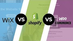 Wix Vs Shopify Vs WooCommerce: Top eCommerce Platforms In 2019