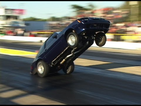 NON-STOP DRAG RACING WHEELSTANDS