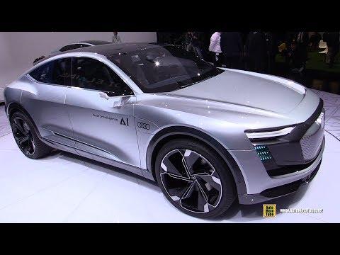 Audi Elaine eTron Concept - Walkaround - 2017 Frankfurt Auto Show