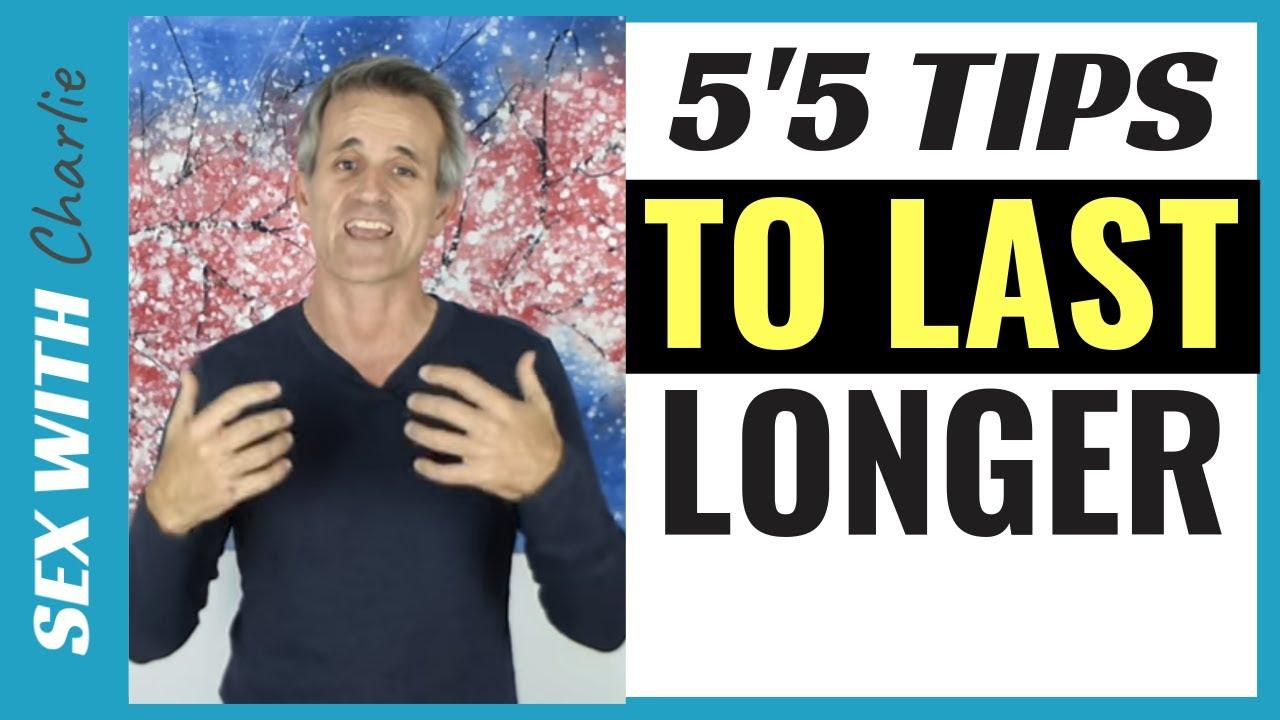 Longer lasting sex techniques sting