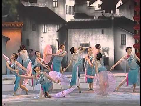 2007年央视春节联欢晚会 舞蹈《小城雨巷》 南京军区文工团  CCTV春晚