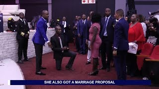 Former prostitute gets engaged in church - Testimony with Alph LUKAU