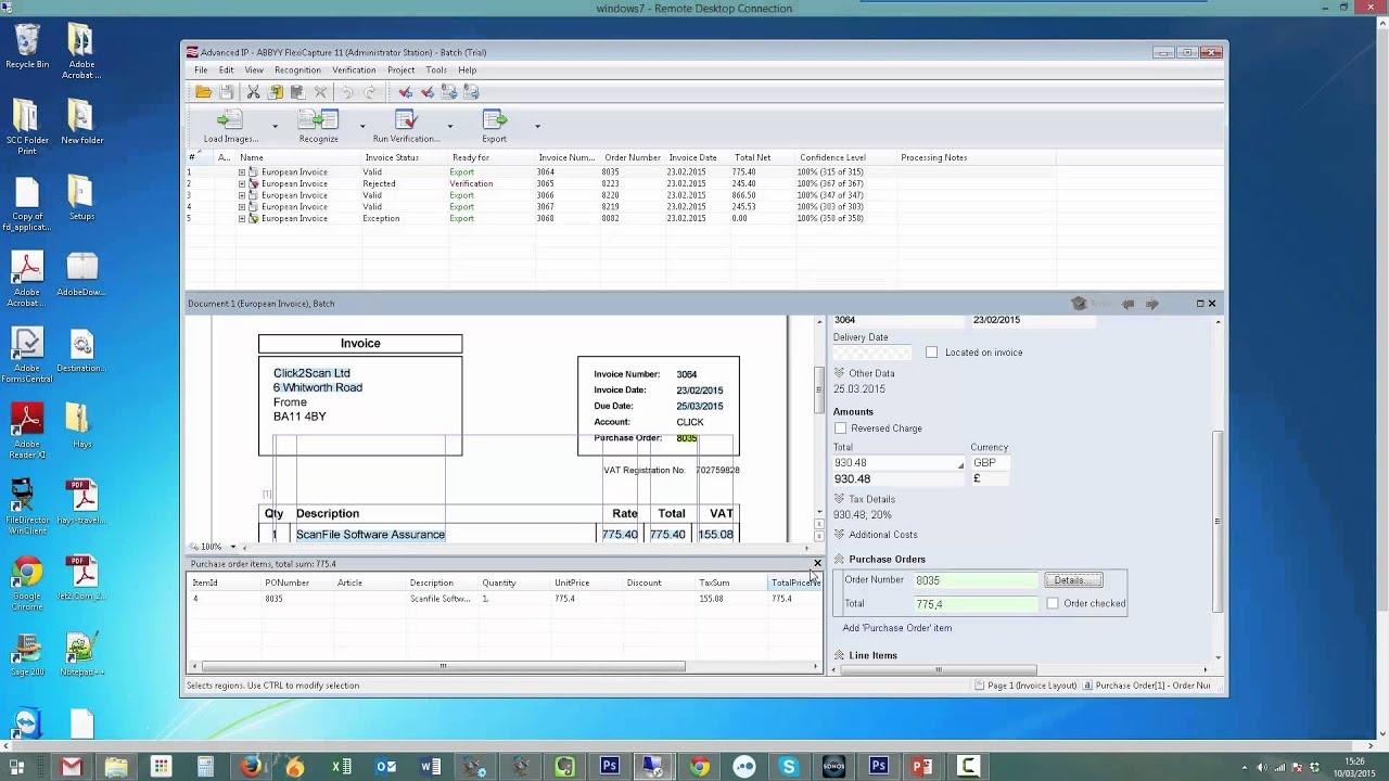 Advanced Invoice Processing YouTube - Invoice processing software