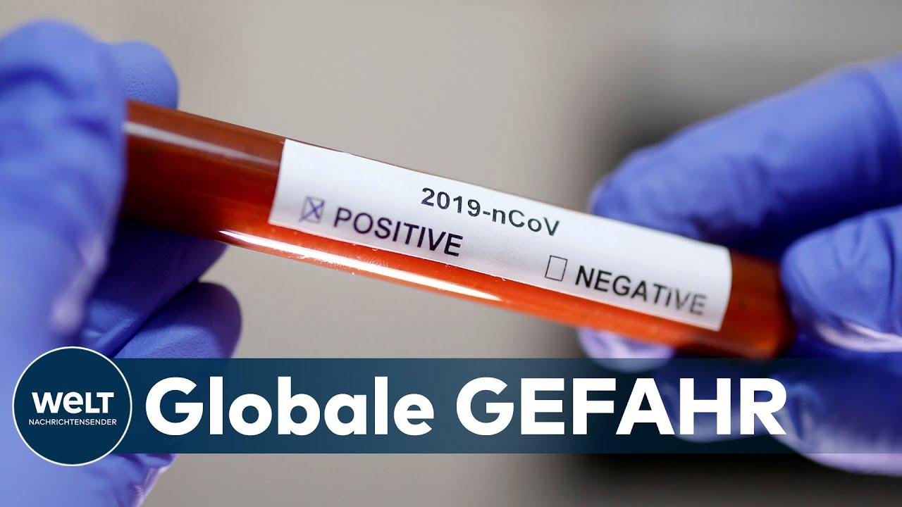 CORONA-KRISE: Für die WHO ist der Coronavirus-Ausbruch jetzt eine Pandemie