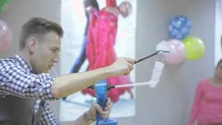 Шоу мыльных пузырей для детей на детский праздник и день рождения Москва