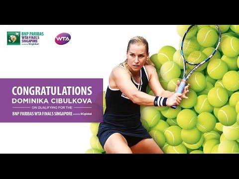 Dominika Cibulkova Qualifies For 2016 WTA Finals