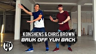 Bruk Off Yuh Back | Konshens Ft. Chris Brown