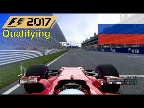 F1 2017 - Let's Make Giovinazzi World Champion #7: Russia - Qualifying