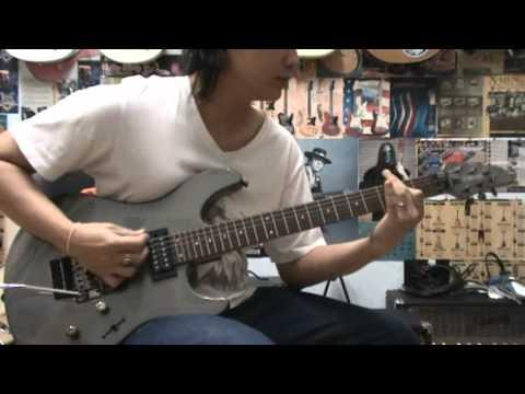 YAMAHA RGX220DZ GUITAR DRIVE SOUND DEMO