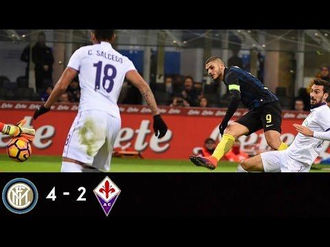 Download Inter - Fiorentina 4-2 (28/11/16), Serie A 2016/17 - TUTTI I GOAL DELLA PARTITA / ALL GOALS (HD)