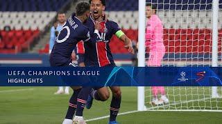 UEFA Champions League | 1st Leg l Paris Saint-Germain v Manchester City | Highlights