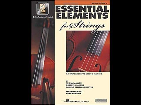 Simple Gifts (duet) - 192 - Essential Elements, Violin, vol. 1