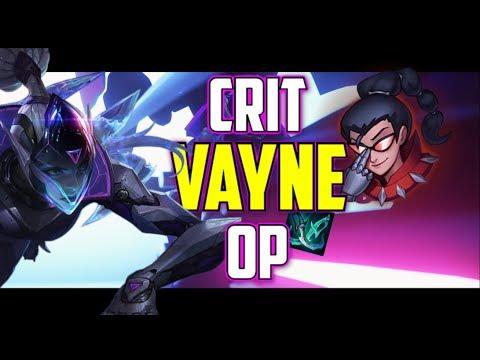 Vaysu |  CRIT VAYNE IS OP 1VS5  CARRY - LEAGUE OF LEGENDS thumbnail